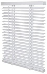 Intensions Jaloezie 100x175x6cm lamellen 5cm Hout met Aluminium raamwerk Wit 1187326