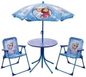 Tuinset Frozen 4-delig meisjes blauw