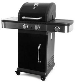 Prestige 2 + 1 gasbarbecue Zwart