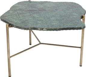Kare Design Piedra Salontafel Marmer Groen - 76 X 72cm.
