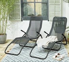 2 PACK Loungestoel Zara