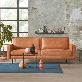 Modern-industriele Bank - 3 Zits - Soft Stone Bruin