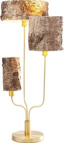 Kare Design Corteccia Tafellamp Boomstam Kappen