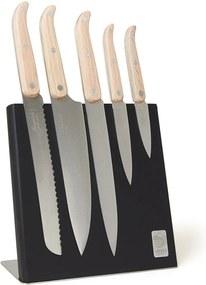 Laguiole Style de Vie Innovation Line magnetisch messenblok met messenset 5-delig