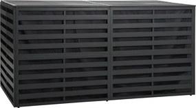 Tuinbox 200x100x100 cm aluminum antraciet