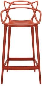 Kartell Masters barkruk oranje 65cm