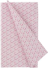 Tafelkleed - 138 X 220 - Papier - Roze Sterren (multicolor)