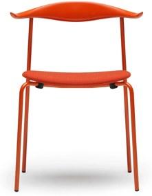 Carl Hansen & Son CH88P stoel gepoedercoat staal Orange Red - Orange Red - Remix 643