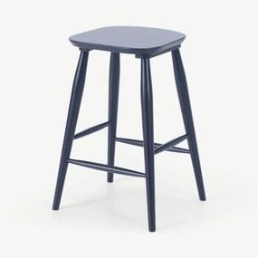 Bromley barkruk, donker marineblauw