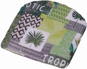 2 stuks! Zitkussen 46x48 Tropic green