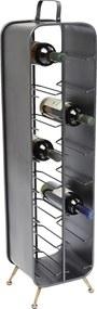 Kare Design Gomera Metalen Wijnrek Groot - 24x22x99cm.