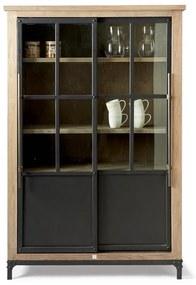 Rivièra Maison - The Hoxton Cabinet Low - Kleur: zwart