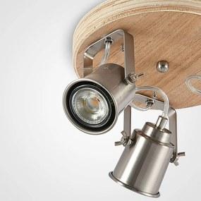 Mikadi plafondspot, 3-lamps - lampen-24
