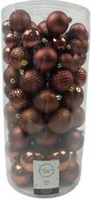 Kerstballen Mix 100 st. - Rosewood