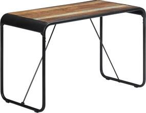 Eettafel 118x60x76 cm massief gerecycled hout