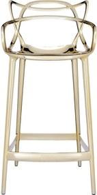 Kartell Masters Metallic barkruk 65cm goud
