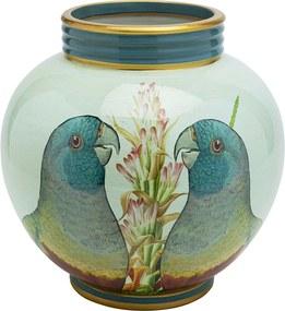 Kare Design Parrot Couple Vaas Met Papegaaien 26cm