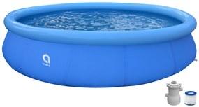 Badstuber Pool opblaaszwembad met pomp en filter 420cm