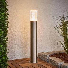 Sokkellamp Belen van roestvrij staal met LED's - lampen-24