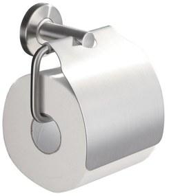 BWS Toiletrolhouder Hera Met Klep RVS