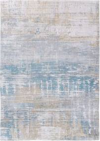 Louis de Poortere   Vloerkleed Long Island 8718 breedte 60 cm x lengte 90 cm blauw vloerkleden 85% katoen, 15% polyester   NADUVI outlet