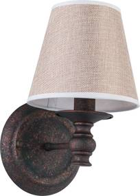 Colonial Wandlamp Weathered Rust