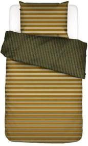 ESSENZA | Dekbedovertrekset Megg tweepersoons: breedte 200 cm x lengte 220 cm + 2x okergeel dekbedovertreksets katoensatijn | NADUVI outlet