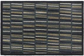Deurmat prestige block & stripes beige 50x75cm