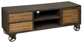 Verrijdbaar Tv-meubel - 140x45x50cm.