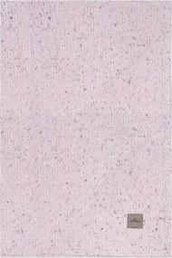 Wiegdeken 75 x 100 cm - Vintage Pink - Babydeken