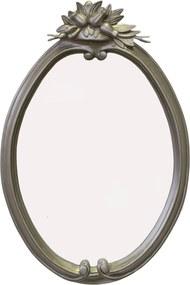 Fontein Barok Spiegel 60x40 cm Zilver
