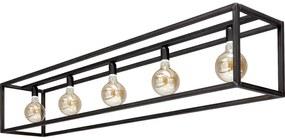 Goossens Excellent Hanglamp Impulse, Hanglamp met 5 lichtpunten