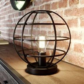 Kooi tafellamp Bekira in zwart - lampen-24