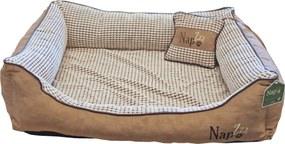 Nap'zzz divan met kussen 90x70 cm beige