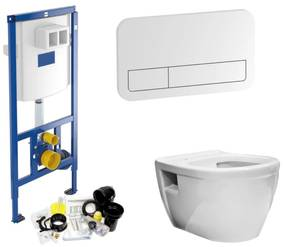 Villeroy & Boch ViConnect Toiletset set07 Wiesbaden Prio Randloos met ViConnect drukplaat