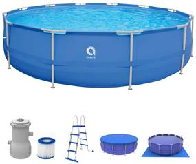 Badstuber Pool frame zwembad met diverse accessoires 450cm