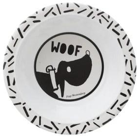 Schaaltje Takkie - 16 Cm - Melamine - Jip & Janneke (wit)
