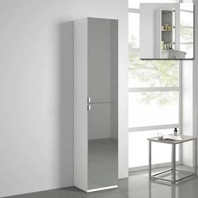 Staande Spiegel Badkamerkast Matt Wit - 170 x 35 cm