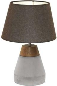 EGLO tafellamp Tarega - hout/beton - Leen Bakker