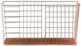 Opbergmand Riga - koper - 40x20,5x30 cm - Leen Bakker