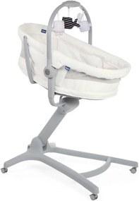 Baby Hug Air 4 In 1 Wieg/ Kinderstoel - White Snow - Kinderstoelen