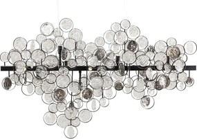 Kare Design Clouds Clear Hanglamp Met Bruincreme Glas