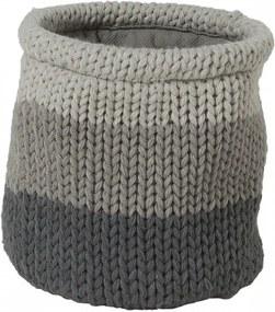Sealskin Opbergmand Knitted 15x15x15 grijs 361971312