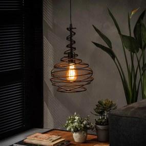 Hanglamp Zwart Staaldraad