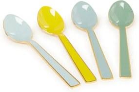 Dessertlepel set van 4