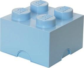 LEGO Opbergbox: Brick 4 (6 ltr) licht blauw