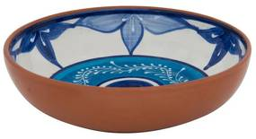Schaal Lagoon - 27 cm - blauw