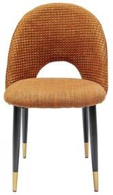 Kare Design Hudson Design Eetkamerstoel Oranje