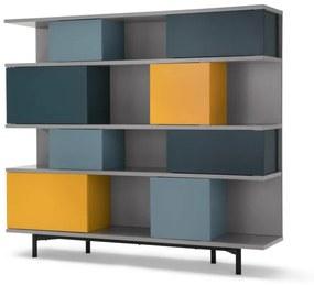 Fowler grote boekenkast, meerkleurig