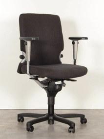 Bureaustoel Comforto 77, antraciet, 3D armleggers